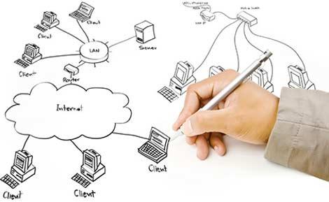 خدمات نصب شبکه